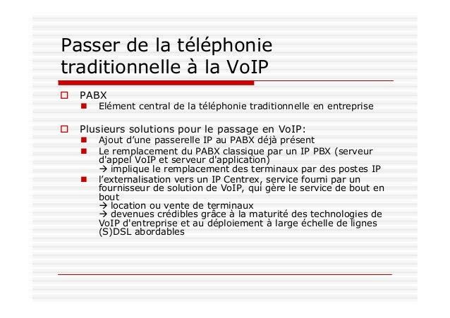Marché SOHO: Quid de l'ancien poste analogique ? POTS: Plain Old Telephone Service Service de téléphonie analogique de bas...