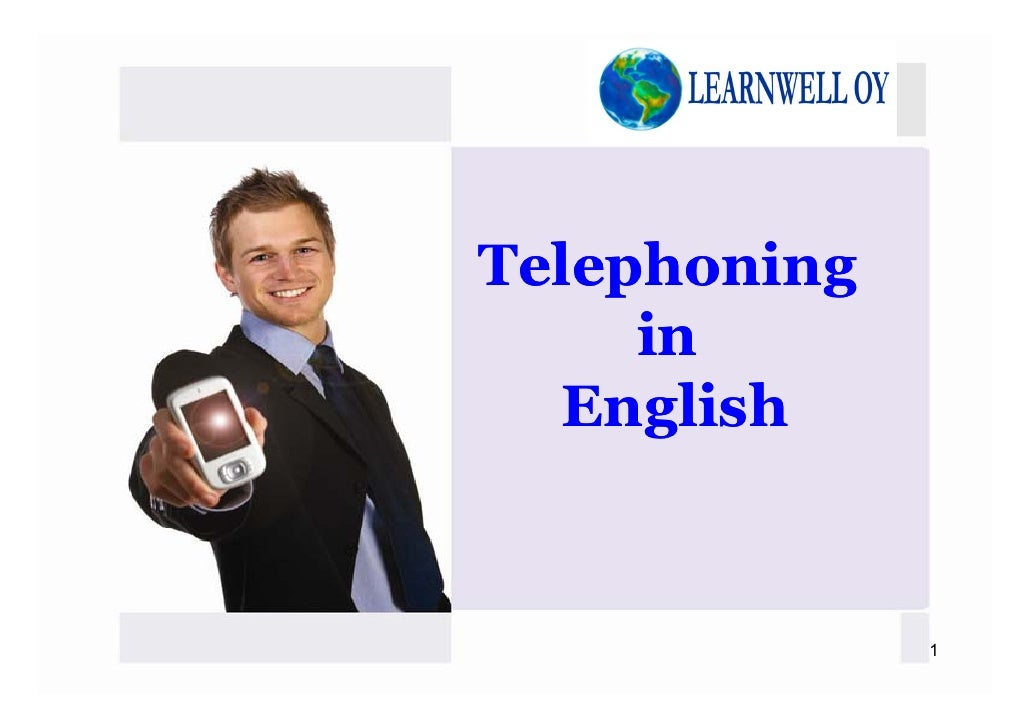 Telephoning     in  English              1