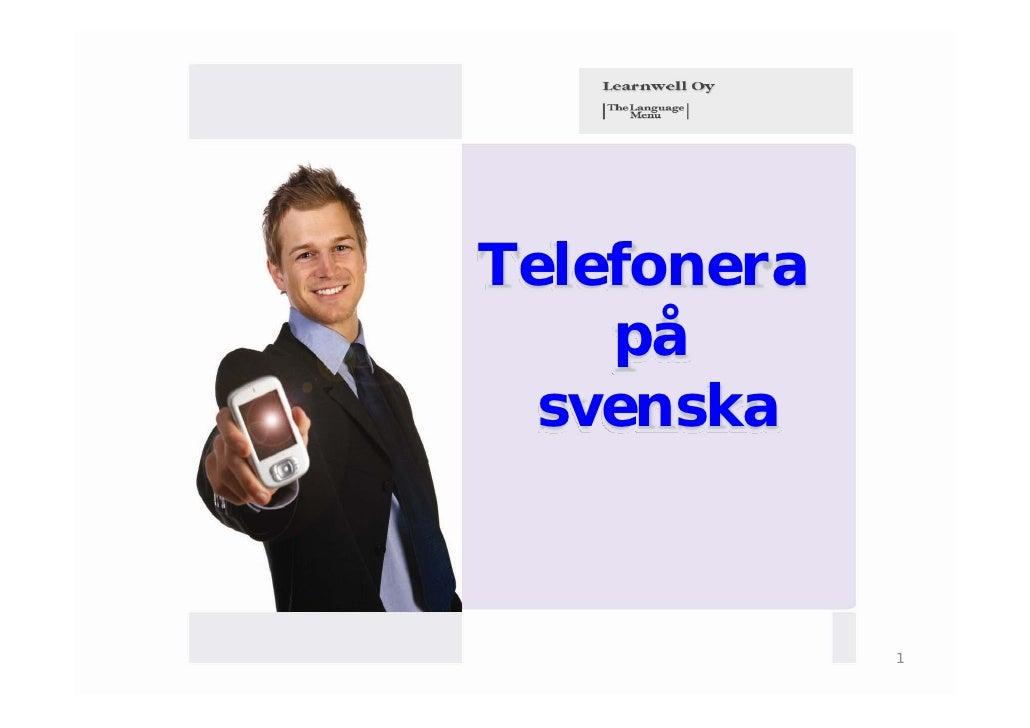 Telefonera    på  svenska             1