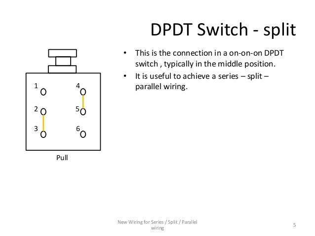 Series Parallel Wiring Diagram : Series parallel switch wiring diagram