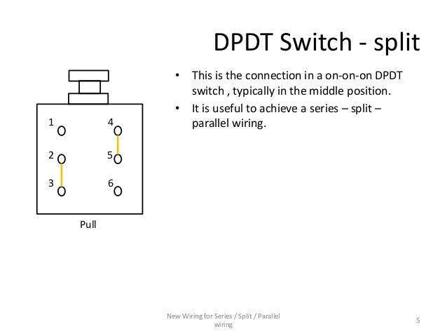 series parallel wiring diagram for 4 conductor humbucker pickups Wiring Split Humbucker Dpdt Pot Wiring Split Humbucker Dpdt Pot #23 On Off On Dpdt Switch Wiring Diagram