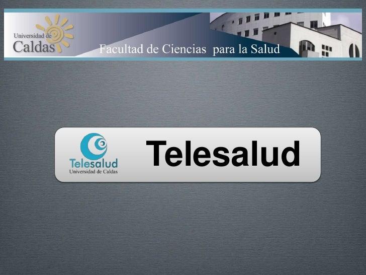 Telesalud<br />