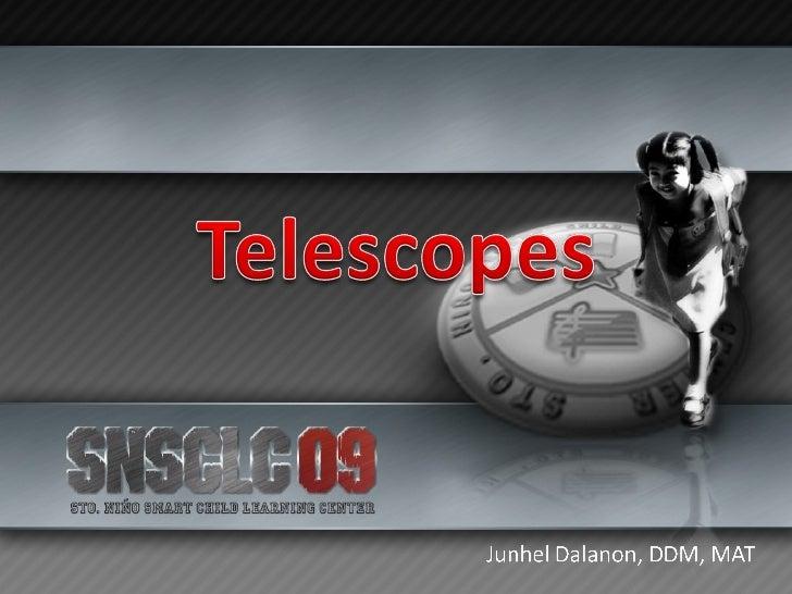 Telescopes Slide 1