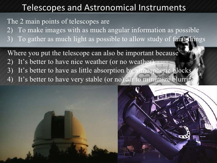 Telescopes Slide 2