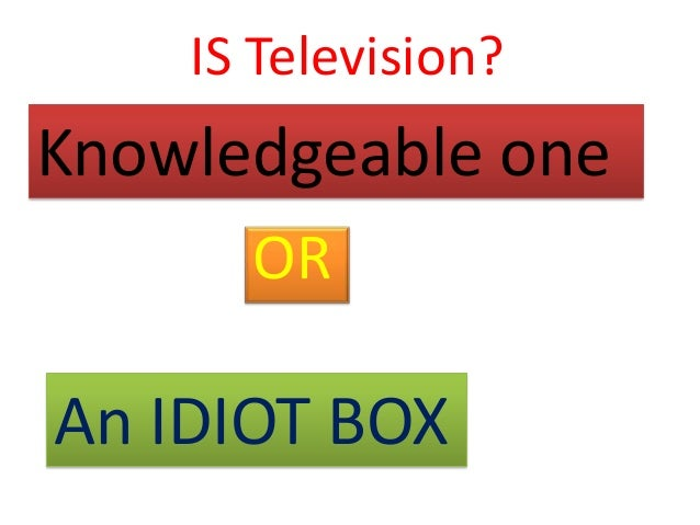 television more than an idiot box Explore the original ranman's board the idiot box on pinterest | see more ideas about tv series  classic television find this pin and more on the idiot box by.