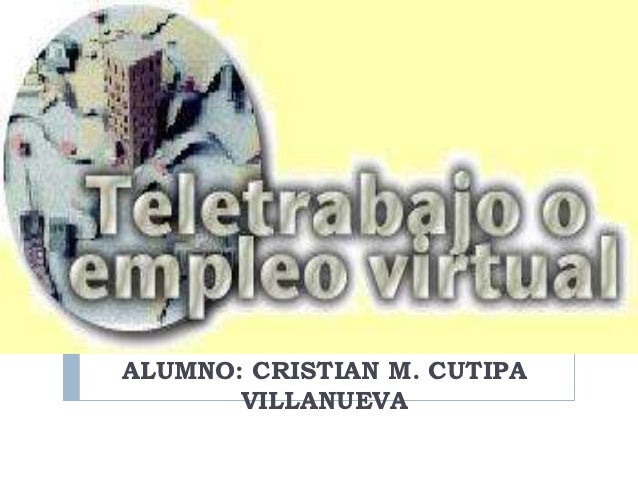 ALUMNO: CRISTIAN M. CUTIPA       VILLANUEVA