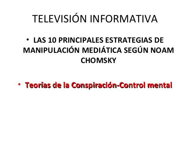Televisión informativa 8 de marzo