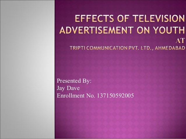 the effects of television advertising on Social tv is the use of communication devices to connect with family and friends watching other tv screens plausible arguments suggest both positive and negative.