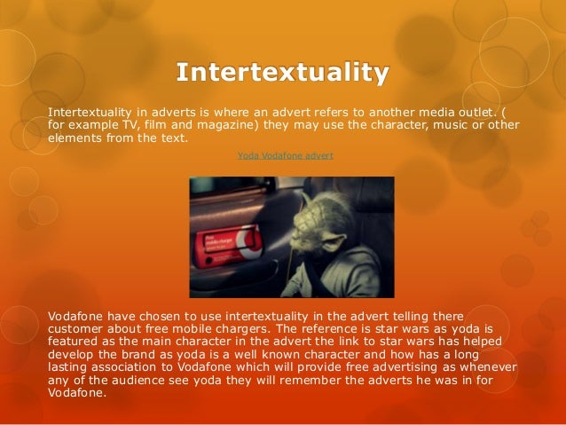 television advertising techniques 31 intertextuality intertextuality in adverts