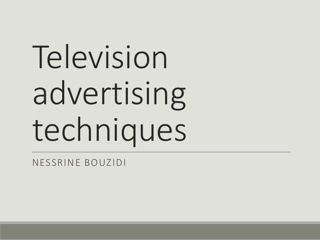 aural techniques in commercials
