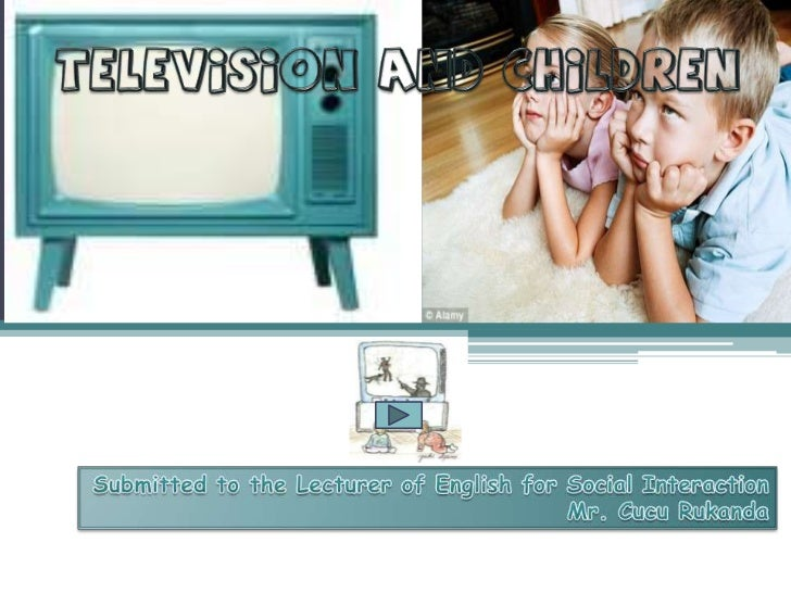 Why and to what extent should parentscontrol their children's TV watching ?                           The problemThere i...