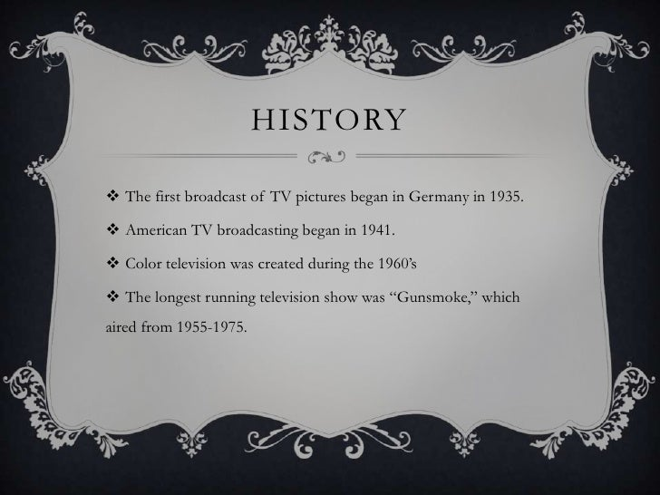 Television Industry PowerPoint