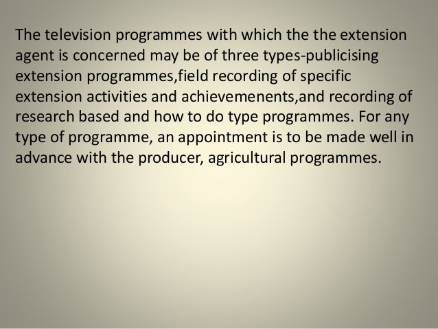 benefits of television for students