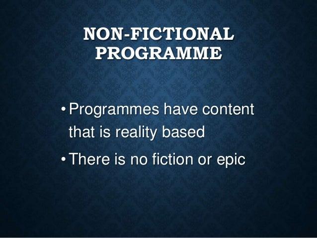 Television Programmes Slide 3