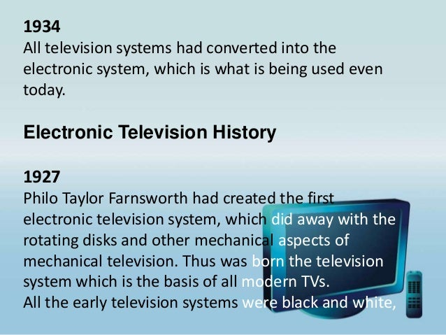 Television History, Importance, Advantages & Disadvantages