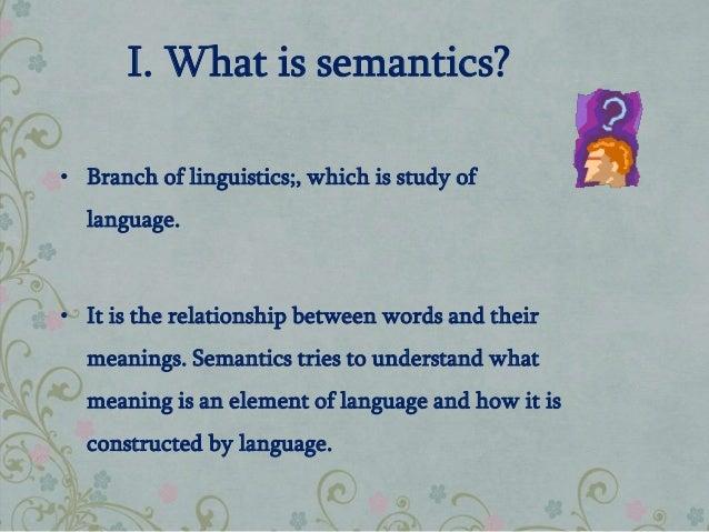 Dissertation semantics