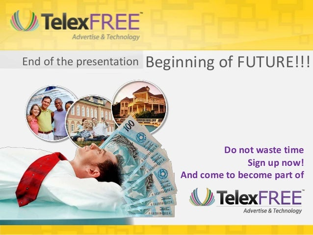 End of the presentation   Beginning of FUTURE!!!                                      Do not waste time                   ...