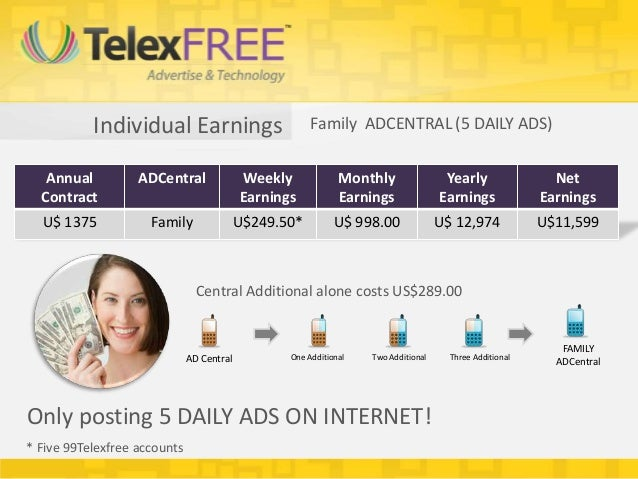 Individual Earnings                         Family ADCENTRAL (5 DAILY ADS)   Annual          ADCentral               Weekl...