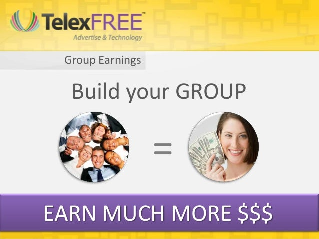 Group Earnings  Build your GROUP                  =EARN MUCH MORE $$$