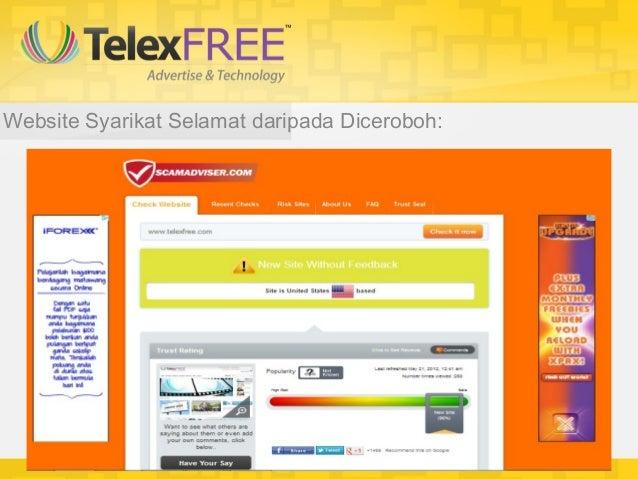 So, apa ditunggu lagi??Telexfree tidak menunggu kita.. Dia akan terusmeninggalkan kita jika kita tidak ambil peluang ini s...