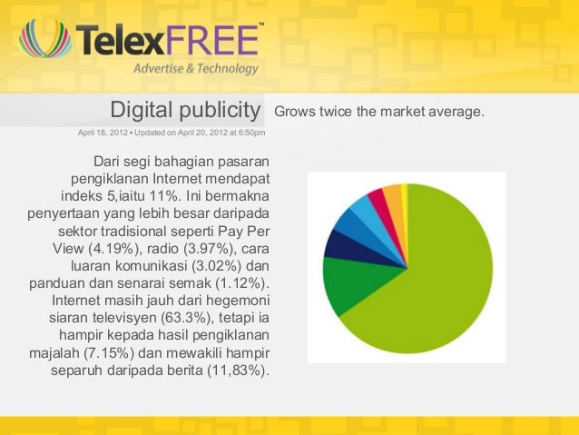 Digital publicity                              Grows twice the market average.        April 18, 2012•Updated on April 20...
