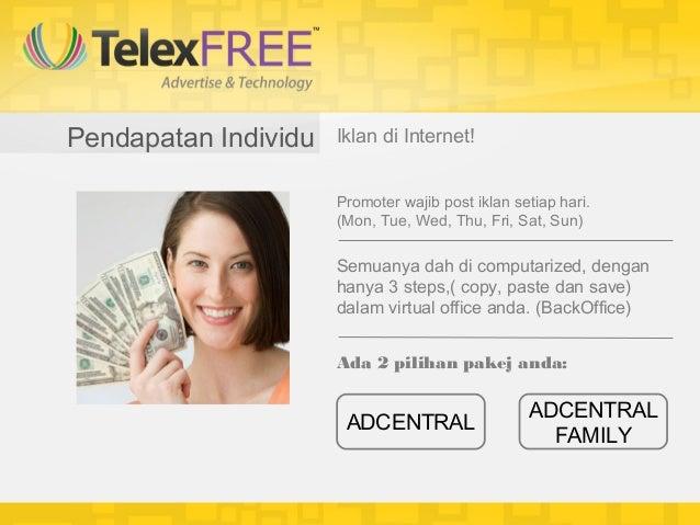 Pendapatan Individu   Iklan di Internet!                      Promoter wajib post iklan setiap hari.                      ...