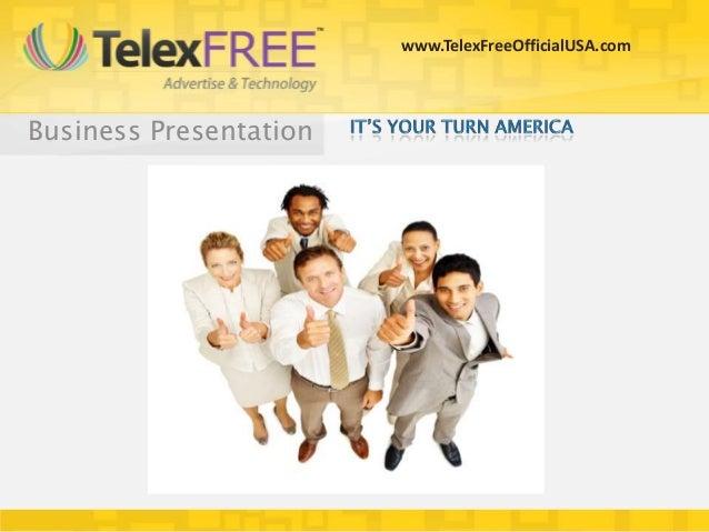 www.TelexFreeOfficialUSA.comBusiness Presentation