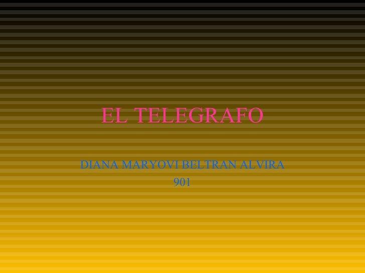 EL TELEGRAFO DIANA MARYOVI BELTRAN ALVIRA 901