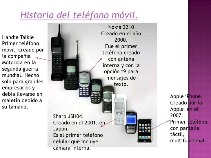Tel fono m vil presentaci n for De donde es el telefono