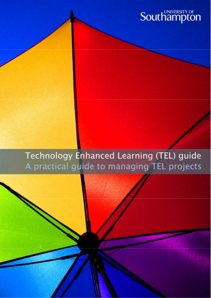 thinking about using technology for learning?   starting out in technology enhanced learning?           what are the big i...