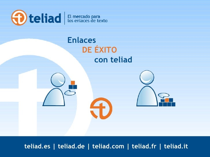 Enlaces    DE ÉXITO   con teliad