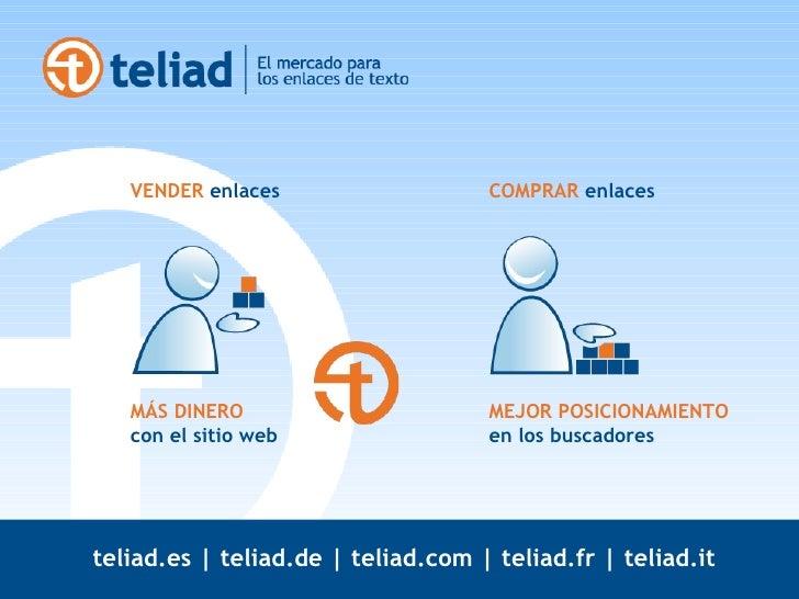 Teliad | Mercado de Enlaces Slide 2