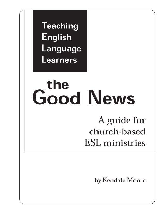 TELL (Teaching English Language Learners) the good news