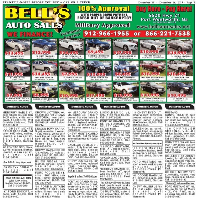 Tell n-sell dec-10_to_dec_16