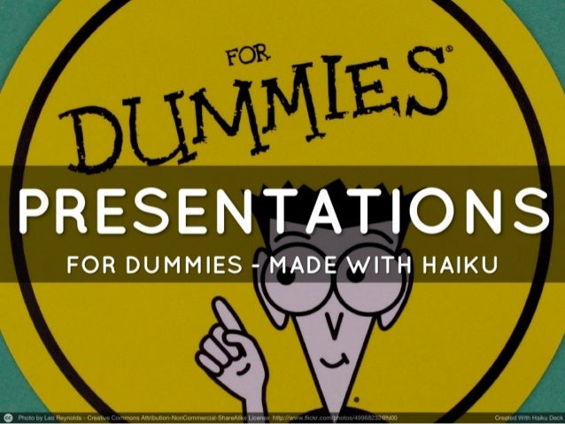 """Tell a story - Recommendation for """"Haiku Deck"""""""