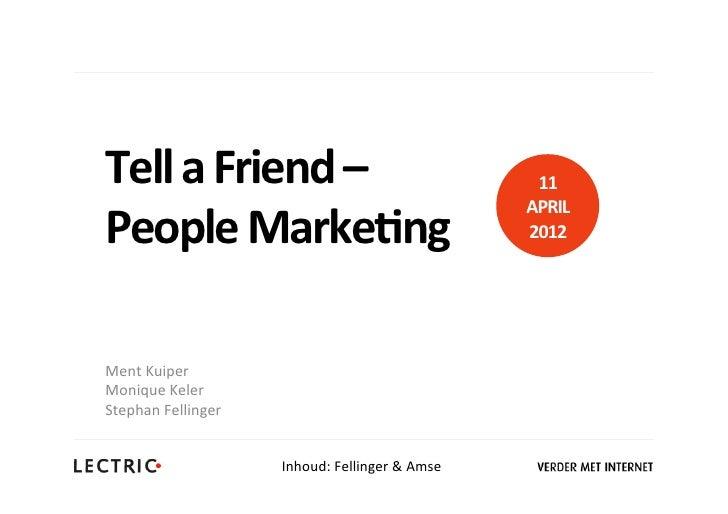 Tell a Friend –                                      11                                                       ...