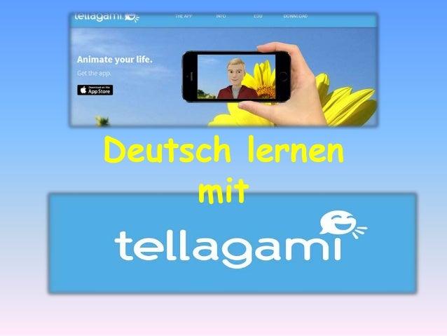 Tellegami Deutsch lernen mit