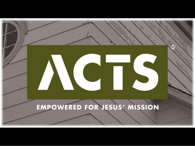 Tell 'em WHO you're FOR!  (not what you're against)  ACTS Series  January 26, 2014