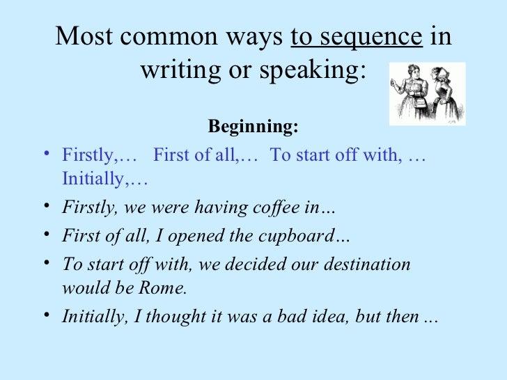 Telling a story speak Slide 2