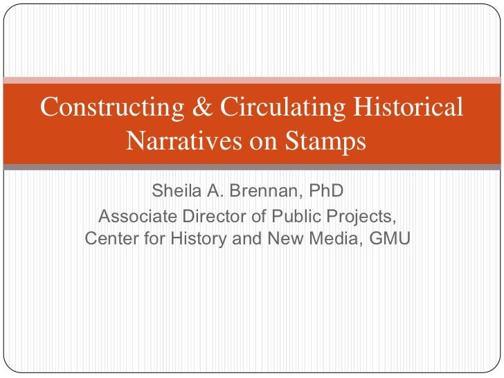 Sheila A. Brennan, PhD<br />Associate Director of Public Projects, Center for History and New Media, GMU<br />Constructing...