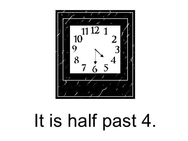 Telling the time3