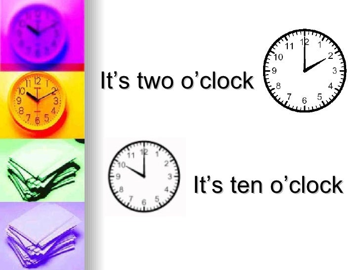 Telling the time power point Slide 3