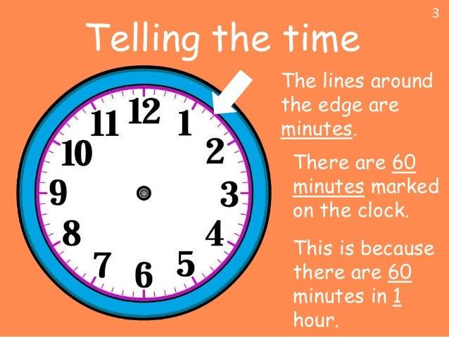 Telling time Slide 3