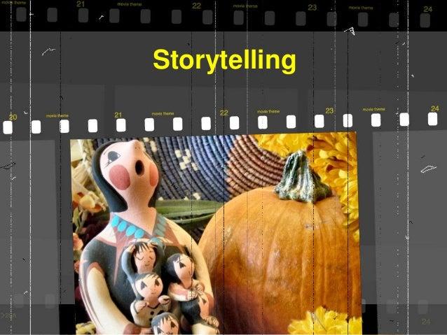 Tell me a story #PracPed18  Slide 2