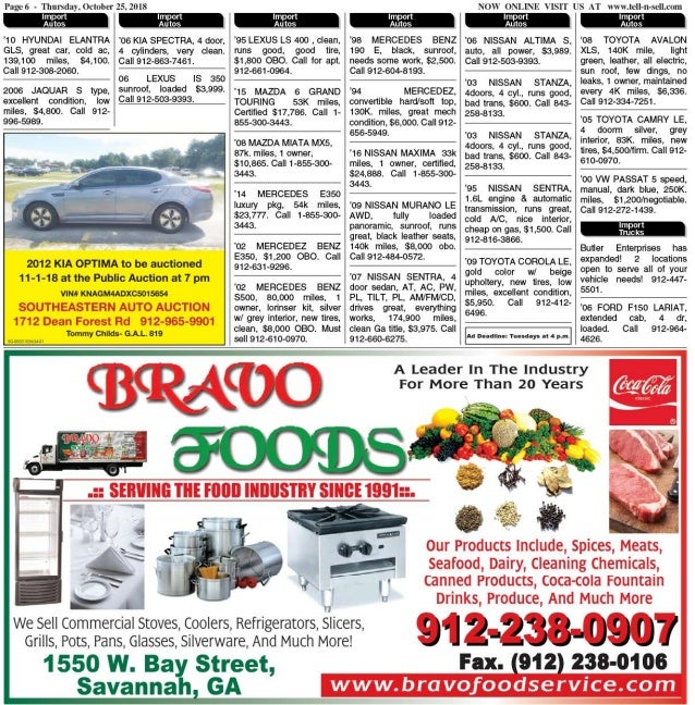 Tell-N-Sell Classifieds – Issue for 25 October to 31 October