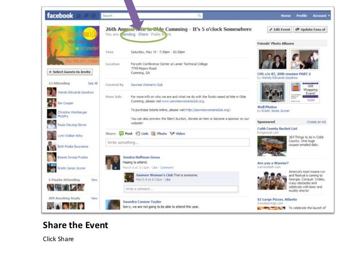 how to create an event ad on facebook