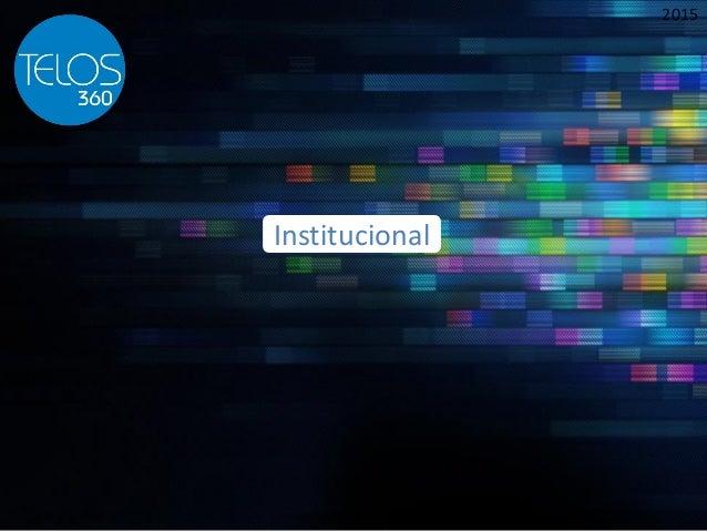 2015 Institucional
