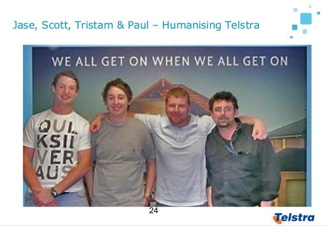 24 Jase, Scott, Tristam & Paul – Humanising Telstra