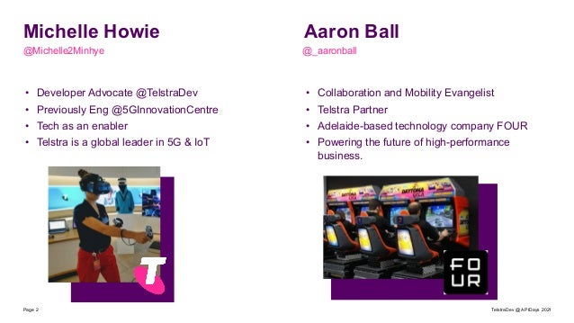 apidays LIVE Australia 2021 - Unlocking the Internet of Things with Telco APIs: Telstra's Track and Monitor by Michelle Howie & Aaron Ball Slide 2