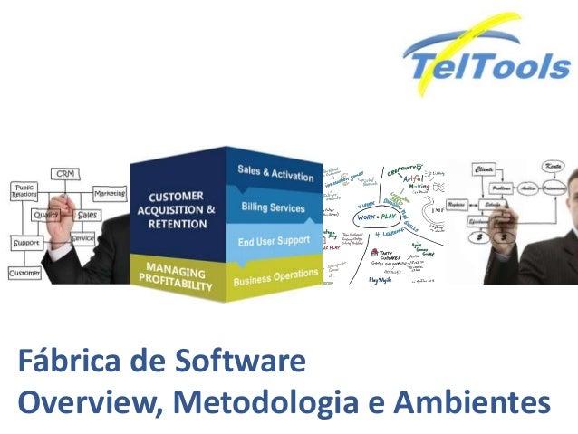 Fábrica de Software Overview, Metodologia e Ambientes